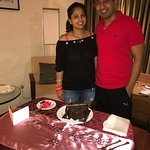 Very good gesture by the hotel staff.. special thanks to ms nazma from Guest relationship!!