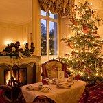 Salon Belle Epoque during Christmas Season