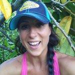 Julie selfie in tree