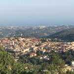 Village from hilltop in Vence