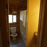 Bathroom off of Kitchenette area