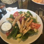 Lunch Spinach Salad With Chicken