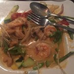 Thai shrimp curry at Kamiya 86 Ponte Vedra Beach