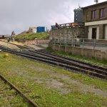 Der Bahnhof am Gipfel