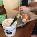 Lobster roll and Chowder