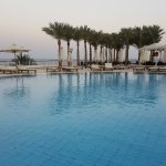 highest level pool near colombo bar , with marvelous view of the red sea