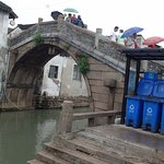 One of many bridges over the Grand Canal.