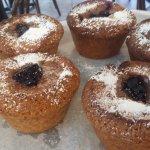 Cheese Danish.. Cinnamon rills.. Coffee toffee muffins.. Peach muffins.. Plum muffins
