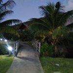 Hôtel vue de nuit