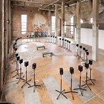 "Röda Sten Konsthall during the exhibition ""Reverberations"" 2015. Photo Hendrik Zeitler"