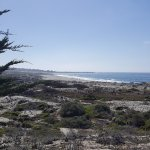 A sunny day along the Pacific Grove shoreline