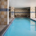 Dive in to our indoor pool!