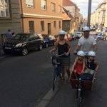Our dear guests rented our bikes, and they are ready to expore Zagreb