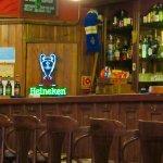 A comfortable pub bar
