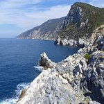 Coast In the direction from Portovenere to Cinque Terre