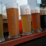 Beer paddle board