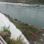 This is the Falls from viewing spot (visiting by boat are down below