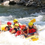 Rafting with Gavin