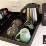 loot bag and coffee making facilities