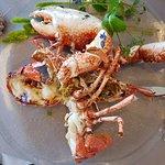 un bon homard bleu breton péché et mangé