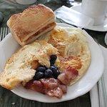 Merveilleux moments du petit déjeuner