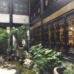 Landscaped Garden in Hotel Courtyard