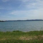View across lake from Gavirate