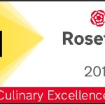 AA 1 Rosette 2017 Culinary Excellence