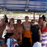 Diver mischief on our boat!