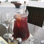 Sangria in the hotel restaurant