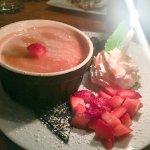 Budino (salted caramel pudding)