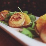 Seared Scallops and Blood Oranges