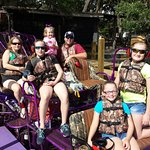 What a BLAST! We had so much fun today on the Airboat tour with Captain Andy of Alligator Cove T