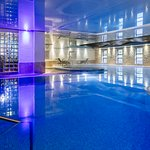 Take a dip in our heated pool
