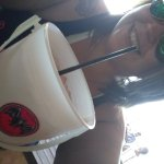 Love the rum bucket!