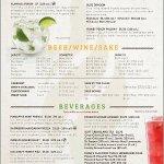 Back menu