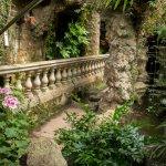 Inside a grotto