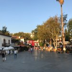 town square in Kas