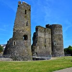 Another angle of Ferns Castle