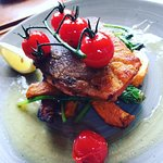 Grilled Sea Trout. Lush