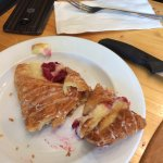 Raspberry and Cream Cheese pastry