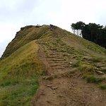 Steep climb to Losehill Ridge