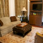Evergreen living room
