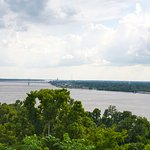 View of Mississippi River from Evergreen bluff