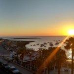 Dawn from balcony
