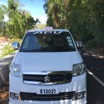 Taxi Services and Island Tours A well day spend on the island tours on praslin, seychelles.