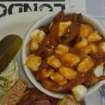 Poutine (french fries, cheese curds, gravy)