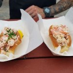 Wasabi Lobster roll & Maine Lobster roll