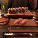 Sushi con mojitos