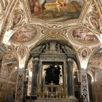 Frescoes and the crypt